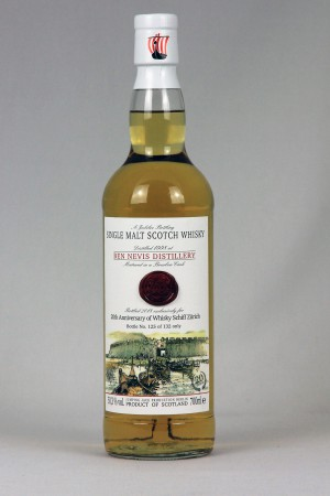 Ben Nevis 1998 JWWW - 20th anniv. Whiskyshiff Zürich 50,3% vol.