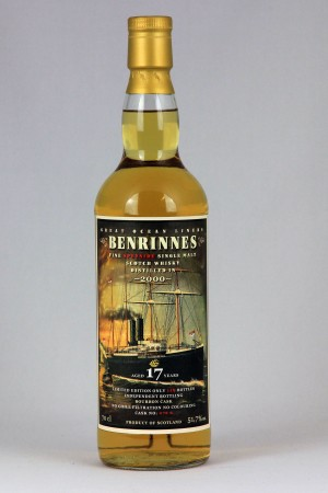 Benrinnes 2000 JWWW - Great Ocean Liners 51,7% vol.