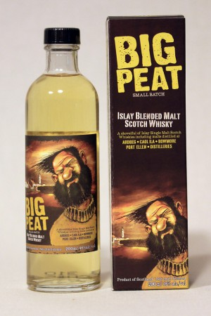 Big Peat - Islay Blended Malt Scotch Whisky (200ml) 46,0% vol.