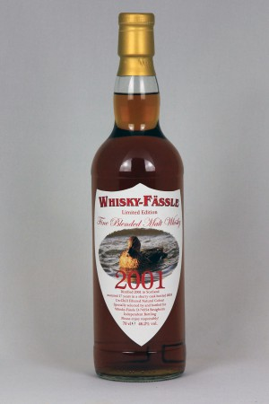 Fine Blended Malt Whisky 2001 Whisky-Fässle 46,2% vol.