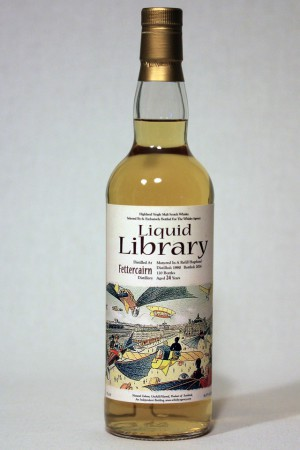 Fettercairn 1990 TWA - Liquid Library 46,4% vol.
