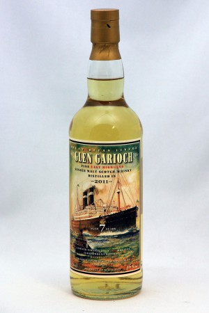 Glen Garioch 2011 JWWW  - Great Ocean Liners 56,0% vol.