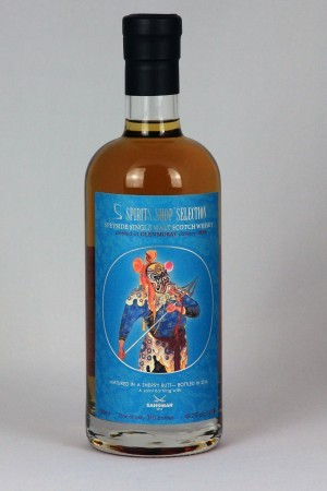 Glen Moray 1996 Sansibar Whisky - Chinese Theater Mask 1 - 49,2% vol.