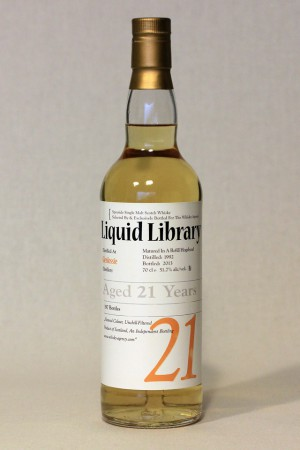 Glenlossie 1992 TWA - Liquid Library 51,7% vol.