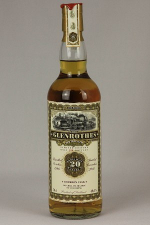 Glenrothes 1996 JWWW - Old Train Line 49,1% vol.