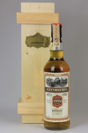 Glenrothes 1996 JWWW - Old Train Line 51,7% vol.