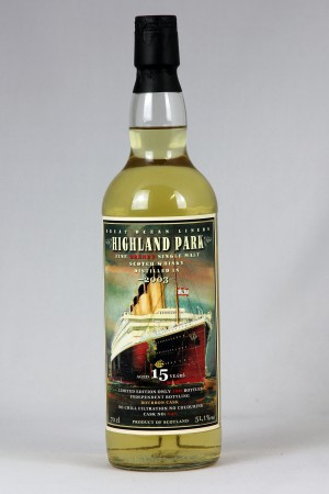Highland Park 2003 JWWW - Great Ocean Liners 51,1% vol.