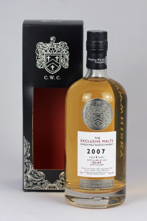 Islay Malt 2007 CWC - Exclusive Malts 56,3% vol.