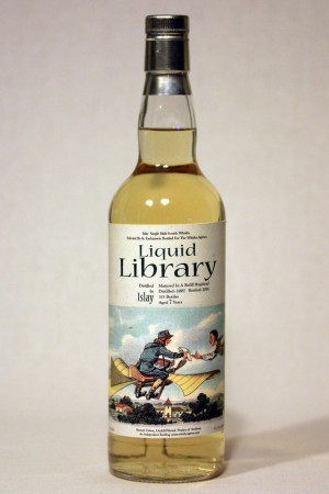 Islay Single Malt 2007 TWA - Liquid Library 53,1% vol.