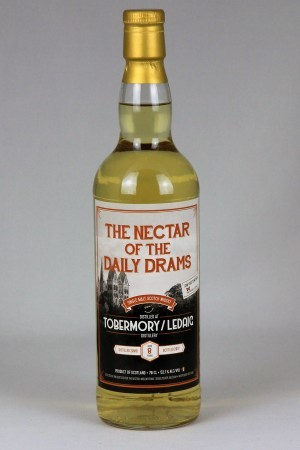 Ledaig 2008 TWA - The Nectar of the Daily Drams 52,1% vol.