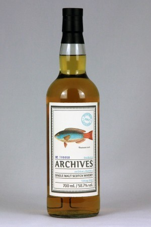 Orkney Malt 2002 Archives 58,7% vol.