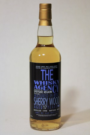 Speyside Region 1998 TWA - bottled letters 50,3% vol.