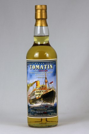 Tomatin 2011 JWWW - Great Ocean Liners 57,5% vol.