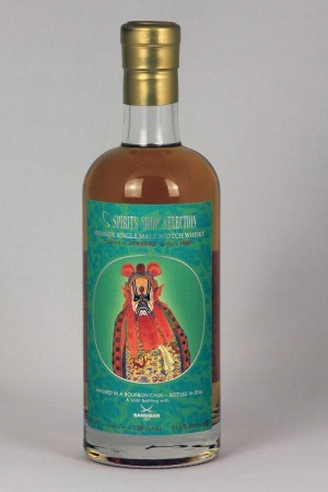 Tormore 1988 Sansibar Whisky - Chinese Theater Mask 1 - 51,6% vol.